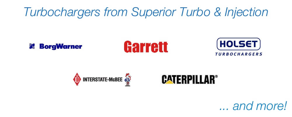Turbochargers from Superior Turbo & Injection +1-313-842-4616